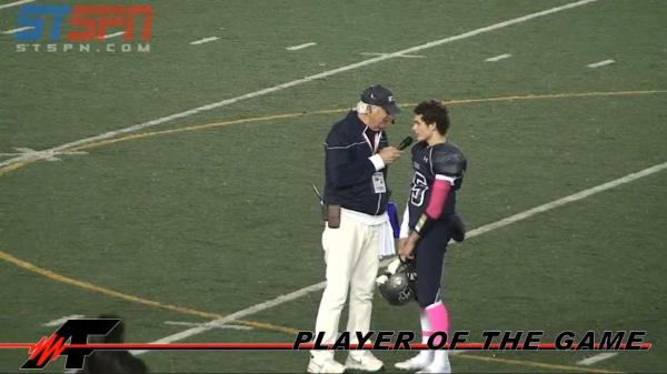 Ayden Ziomas 'Baby Z' Player of the Game