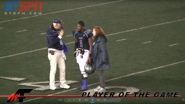 Dexter 'Look Out' Carter - Player of the Game