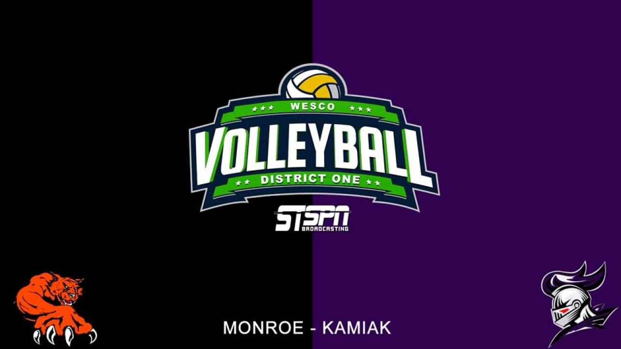 Kamiak at Monroe Volleyball