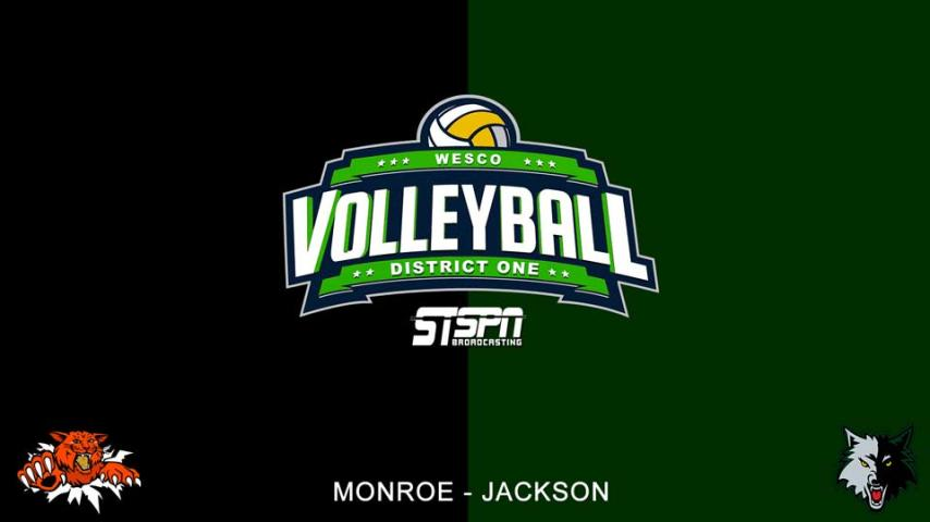Jackson at Monroe Volleyball