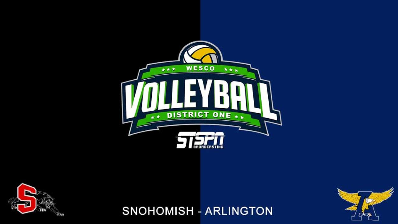 Arlington at Snohomish Volleyball