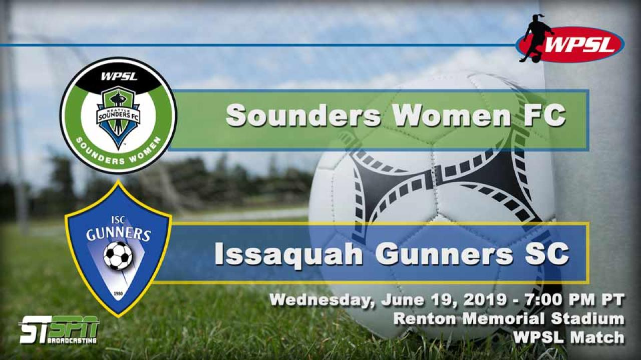 Sounders FC vs Gunners SC Women
